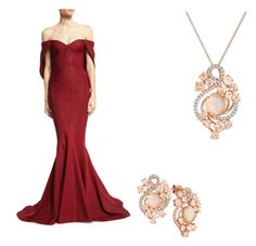 Designer Clothes, Shoes & Bags for Women Le Vian, Zac Posen, Formal Dresses, Polyvore, Stuff To Buy, Shopping, Collection, Design, Women