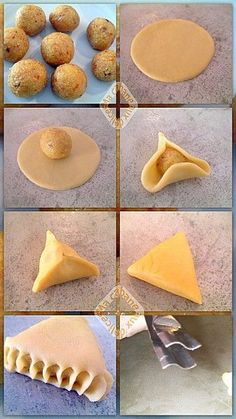 Ramadan Recipes 580331101955773566 - Triangles amandes oranges Source by afrageurytb Biscotti Cookies, Tea Cookies, Arabic Sweets, Arabic Food, Maamoul Recipe, Biscuit Decoration, Eid Cake, Cookie Recipes, Dessert Recipes