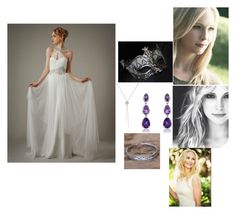 """""""Caroline Forbes"""" by moon-me-stars ❤ liked on Polyvore featuring Masquerade, Piaget and NOVICA"""