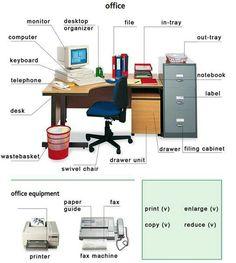 Office - #Vocabulary #English