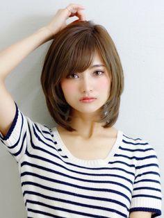 Haircuts Straight Hair, Haircuts For Medium Hair, Girl Haircuts, Medium Hair Cuts, Japanese Short Hair, Asian Short Hair, Short Thin Hair, Japanese Haircut, Medium Hair Styles For Women