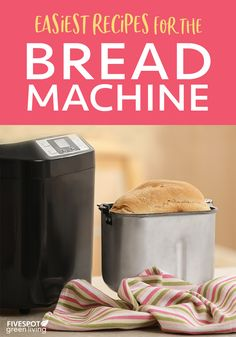 Once you make these easy homemade bread machine recipes you won't want store bought anymore! #homemadebread #breadmachine #breadrecipes