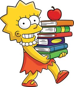 """Lisa Simpson from """"The Simpsons"""""""