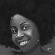 Black Women Art! – Afro Collection by Ian Quhachi
