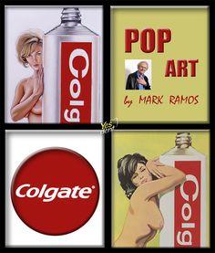 #tube #colgate #toothpaste #popart  #art #mel #ramos  #dentist #dentysta #smile  #wroclaw #yesdent  #dentistry  #stomatolog