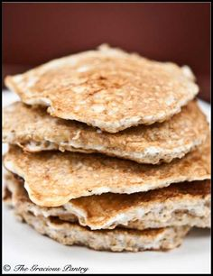 Clean Eating Protein Pancakes