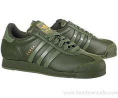 adidas samoa mens green