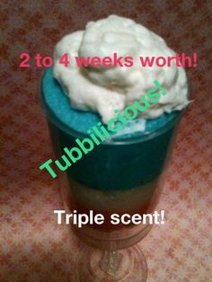 NEW SCRUB POPS Triple scented solid body scrub fun by tubbilicious, $12.50