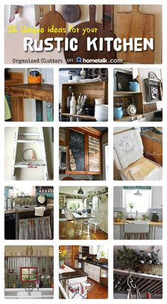 Diy Home Decor Rustic Kitchen Projects 41 Ideas Primitive Kitchen, Country Kitchen, Western Kitchen, Primitive Decor, Kitchen Redo, Kitchen Remodel, Kitchen Ideas, Kitchen Pans, Kitchen Floor