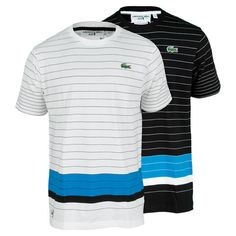 be88715bf518c Men`s Andy Roddick Super Light Stripe Tennis Tee Tennis Gear