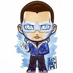 The Flash: Captain Cold! The new show is looking like it's going to be a pretty fun ride…interesting casting choices! Here's my take on Wentworth Miller as Captain Cold! Chibi Marvel, Marvel Dc Comics, The Flash Captain Cold, Lord Mesa Art, Dc Legends Of Tomorrow, Supergirl And Flash, Dc Characters, Dc Heroes, Comic Character