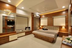 Simple Bedroom Design, Bedroom False Ceiling Design, Wardrobe Design Bedroom, Bedroom Bed Design, Bedroom Furniture Design, Bedroom Colors, Bedroom Ideas, Fusion Design, Traditional Bedroom