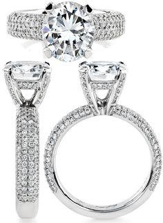 Matching Peridot Ring Laced With Diamonds Dannini