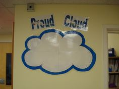 A great way of displaying work that students are...