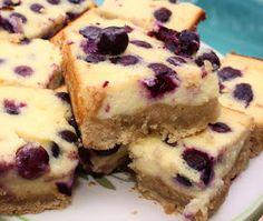 What's Cookin' Italian Style Cuisine: Blueberry Cream Cheese Bars Recipe