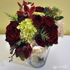 Bridesmaid Bouquet - ruby