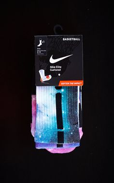 Thesockgame.com — Elite Galaxy V1 - Custom Nike Elite Socks
