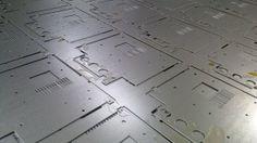 CNC punching with a Trumpf 3000 using a tapping module to form M3 threads in a second http://www.vandf.co.uk/sheet-metal-projects-in-june-2015/