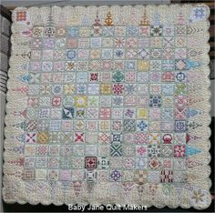 Dear Jane Quilt by Pip seen at Baby Jane Quiltmakers (Japan)