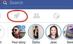 Facebook prueba este botón de cohete: descubre para qué sirve