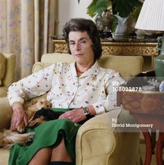 Lady Patricia Mountbatten,  2nd Countess Mountbatten of Burma (b. 14 February 1924), eldest child of Lord Louis Mountbatten, Earl of Burma, nee Prince Louis of Battenberg.  In 1946 Lady Patricia married John Knatchbull, 7th Baron Brabourne.  They had 8 children.  Patricia became Countess of Burma upon her father's assassination in 1979.  She, her husband, and 14-year-old son Timothy were severely injured in the bomb blast that killed her father.  Timothy's twin, Nicholas, was killed.