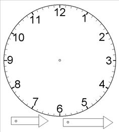 135 best CLOCKS PRINTABLE images on Pinterest | Clock faces, Clocks ...