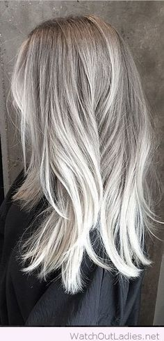 Lovely silver highlights