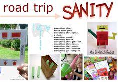 Road trip list... of activities for the kids - Kids Activities Blog