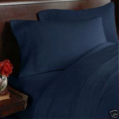 "8PC Full 600 Thread Count Bed in a Bag - Navy Solid Sheet, Duvet & Down Comforter by Egyptian Bedding. $249.99. Luxury White Siberian Goose Down Comforter (86X86 Inches). True baffle box design to keep the down in place. 1 Flat Sheet (86"" x 96""), 1 Fitted Sheet (54"" x 75"") and 2 Standard Pillow Cases (20"" x 30""). Brand New and Factory Sealed.. Beautiful Duvet Set (1 Duvet Cover, 2 Shams). This Luxury 8-Piece Bed in a Bag Siberian Goose Down Comforter Set consists ..."