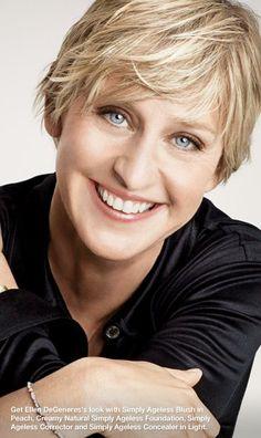 Ellen Degeneres (love her eyes)