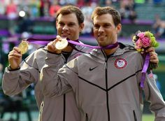 Bryan brothers win Olympic gold in men's doubles tennis London 2012