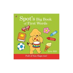 Spot's Big Book of First Words - English Wooks