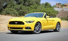2015 Ford Mustang GT Convertible Manual (top down)