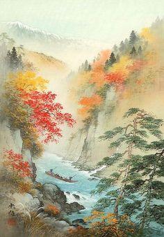 levkonoe: Koukei Kojima. По реке