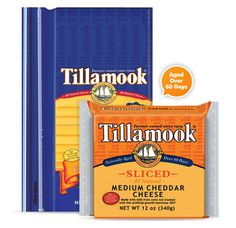 Tillamook Sharp Sliced Cheddar Cheese