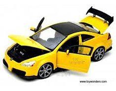 73146yl/4 Motormax   Honda Accord Custom Tuner Hard Top (1:18, Yellow) 73146 Diecast Car Model 1 18 Vehicle Toy Auto Automobile Metal. #Motormax #Honda #Accord #Custom #Tuner #Hard #Yellow) #Diecast #Model #Vehicle #Auto #Automobile #Metal