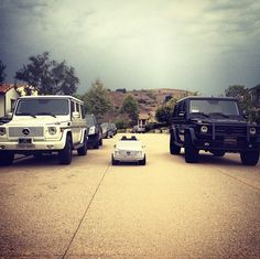 The Kardashian's Mercedes Benz truck collection by Joi Pearson - http://rollingout.com/entertainment/the-kardashians-mercedes-benz-truck-collection/