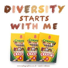 Diversity Starts With Me  #multicultural