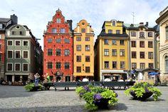 Aangekomen in Stockholm is er tijd om deze stad 's ochtends te verkennen. #Zweden #Scandinavie