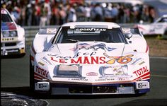 348 km/h (217 mp/h) on the Hunaudières-straight – the Greenwood-Corvette at Le Mans 1976