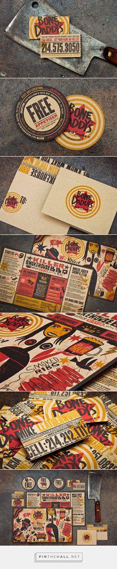 FPO: Bone Daddy's BBQ Restaurant Branding and Menu Design by Matchbox Studio | Fivestar Branding Agency – Design and Branding Agency & Curated Inspiration Gallery
