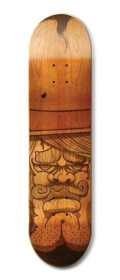 Skate Decks by Kendrick Kidd, via Behance