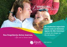 """PEÇA 3 - Campanha Dia dos Namorados com Águas de São Lourenço - """"Especial é..."""""""