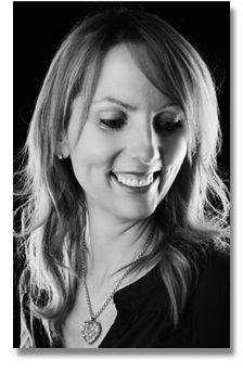 Head shot portrait of Joanne from Petite Belle Cake Design shot in Studio 3 at Studio Sphere, Nelson, Lancashire using Lencarta lighting