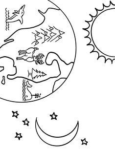 Day Adult Coloring Pages New Color Pages Earth Science Free Coloring Sheets Day Pdf Earth Coloring Pages, Turkey Coloring Pages, Bible Coloring Pages, Adult Coloring Pages, Coloring Books, Solar System Coloring Pages, Earth Drawings, Paw Patrol Coloring Pages, Coloring Sheets For Kids