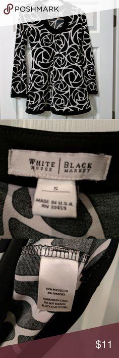 White House Black Market tunic size small Pretty tunic by White House Black Market.  Size small, EUC.  Easy to wear, hard to wrinkle. White House Black Market Tops Tunics