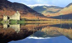 Kilchurn Castle in Dalmally, Argyll and Bute