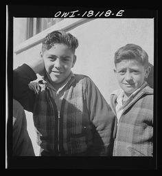 Questa, New Mexico. Grade school children