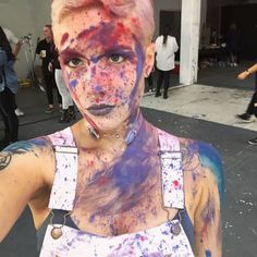 @halsey: Covered in the colors