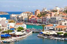 Agios Nikolaos, Crete island